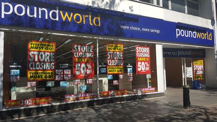 Poundworld on St Peter's Street in St Albans.