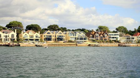 Sandbanks, Dorset, is Britain's most expensive seaside town. Picture: Getty