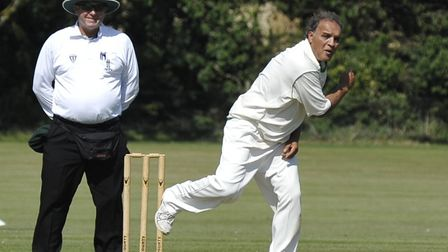 Freddie Khan took six wickets for Huntingdon & District 2nds.