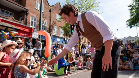 The Alban Street Festival. Picture: Stephanie Belton