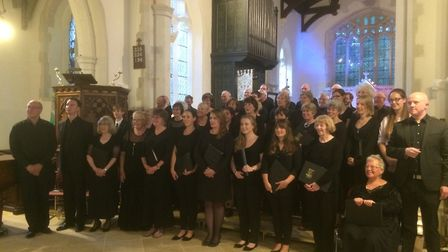 Royston and District Choral Society. Picture: Jenny Leitch