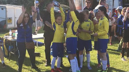 St Albans City Youth U11 girls won the club's own small-sided tournament.