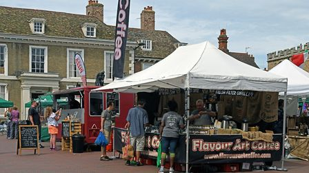 The Food and Drink Festival in Huntingdon. Picture: ARCHANT