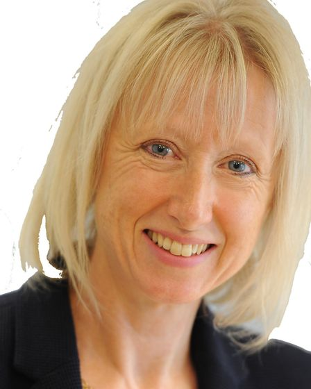 Acting Meridian headteacher Kim Horner, who led the school during a period of significant change in