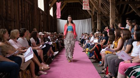 The charity fashion show. Picture: Stephanie Belton Photography