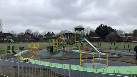 The Foxcroft Park playground, which is one of the council areas which falls under the City Neighbour