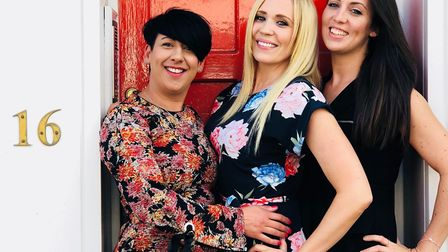 Zoe Sigler, Jo Baker and Laura Holt-Thomas. Picture: Red Door Recruitment
