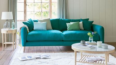 Loaf's Small Squishmeister Sofa in Thatch House Fabric, £1,245