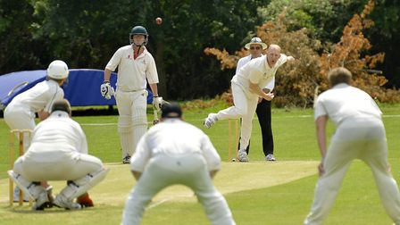 Ramsey bowler Dave Carlaw claimed four wickets against Godmanchester Town.