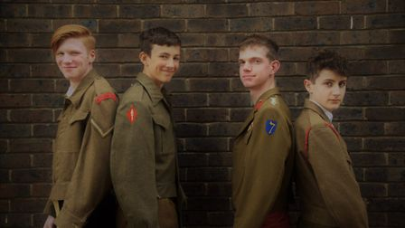 Oh What A Lovely War, which is a collaboration between The St Albans Youth Music Theatre and the Com