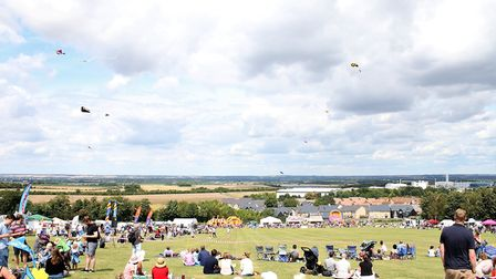 Last year's Royston Kite Festival on Therfield Heath. Picture: Ray Munden