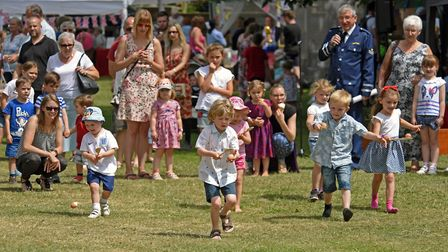 Fun and games at Brampton Fete. Picture: ARCHANT