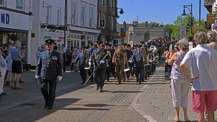 The Freedom of St Ives parade. Picture: ARCHANT