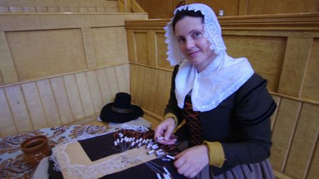 Lace-making period style