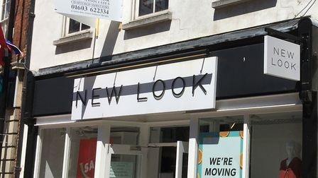 The New Look store in Huntingdon