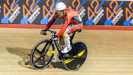 Jason Kierman on track during his medal-winning weekend. Picture: JASON TAMPLIN PHOTOGRAPHY