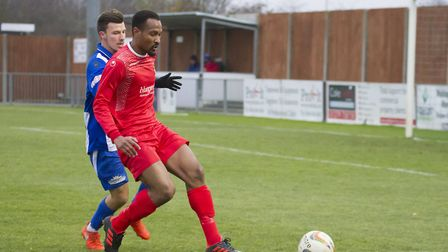 Nabil Shariff has left St Neots Town. Picture: CLAIRE HOWES