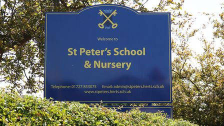 St Peter's School and Nursery. Picture: DANNY LOO