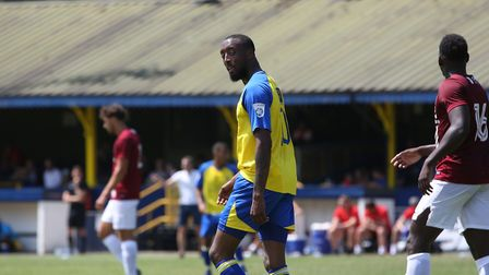 Ralston Gabriel is extremely confident he can score plenty of goals for St Albans City in the Vanara