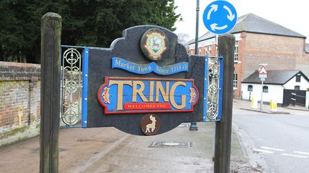 Welcome to Tring. Picture: Karyn Haddon