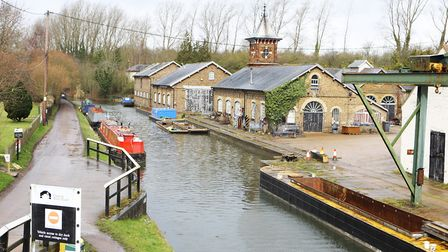 The Grand Union Canal,Tring. Picture: Karyn Haddon