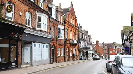 Tring town centre has a good mix of shops and restaurants. Picture: Karyn Haddon