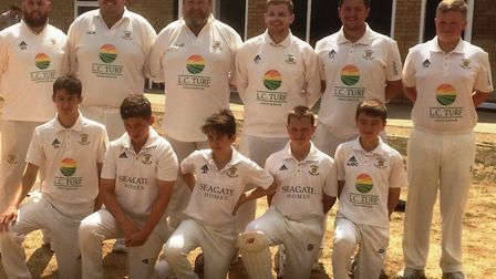 The Ramsey 3rds team, who beat Orton Park 2nds last Saturday, are back row, left to right, Sean Hill