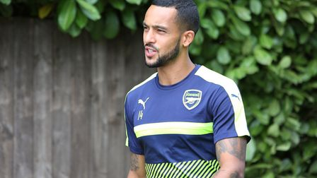 Theo '£4.5m house' Walcott's done alright for himself...