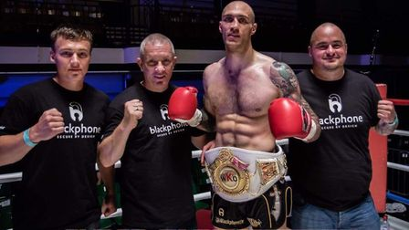 St Albans' Nick Samways successfully defended his WKO World Kickboxing title.