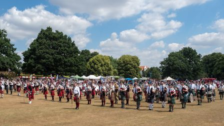 Harpenden Highland Gathering. Picture: Harpenden Photographic Society/Brian Cooke.