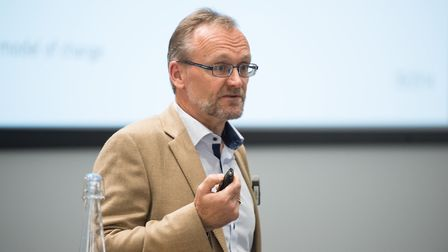 Director and chief executive at Rothamsted Research, Achim Dobermann.