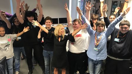 Oaklands College students have been working with children's author Stacey Turner to animate her book