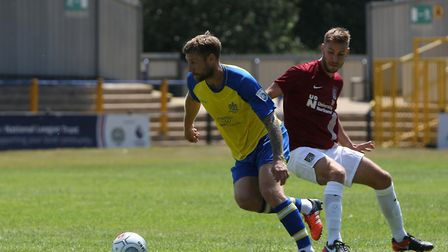 David Noble says missing out on the National League South play-offs with St Albans City still hurts.