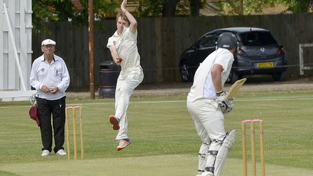 Graham Hudson bagged four wickets as Huntingdon & District triumphed last Saturday.