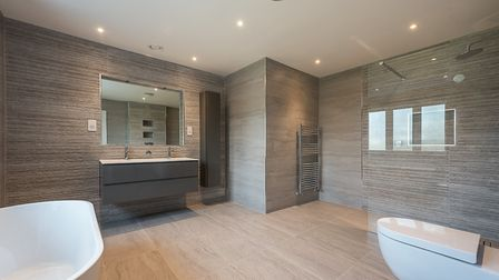 One of the property's many bathrooms