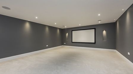 Features include a home cinema