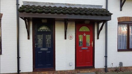 County Windows of Cambridgeshire provide Solidor composite doors in a range of colours
