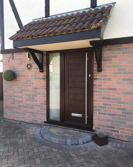 Solidor doors installed by County Windows