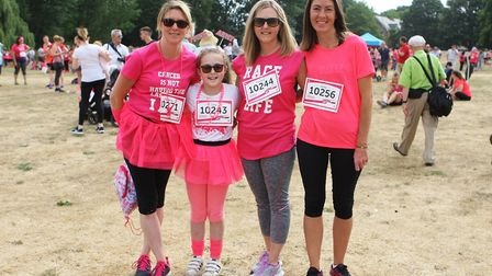 St Albans Race For Life 2018 - Team Sylvia.Picture: Karyn Haddon