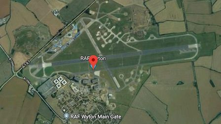 RAF Wyton: Could become a car storage site