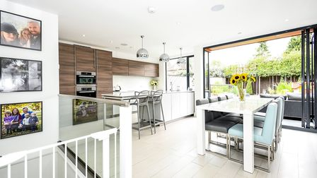 The kitchen/diner has bi-fold doors leading out onto the rear garden