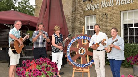 The Rotary Club of St Ives has launched its Unwanted Instrument Appeal for 2018. Picture: CONTRIBUTE