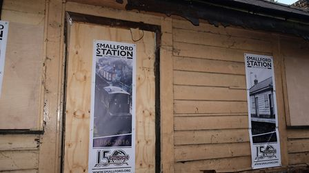 The Grade II-listed Smallford Station. Picture: Danny Loo.