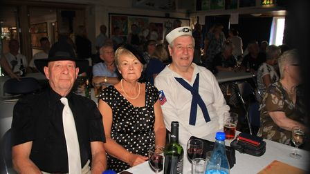 Guests dressed for the occasion. Picture: Clive Porter