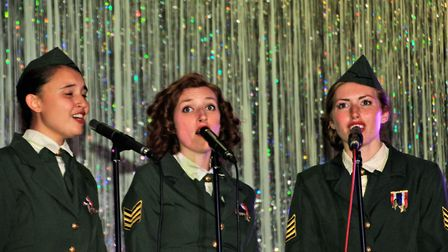 The Doodlebugs at Greneway Middle School. Picture: Clive Porter