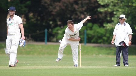 Jamie Regan produced a stunning knock to guide St Albans. to victory over Northwood. Picture: Kar