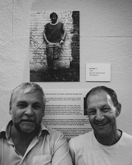 The Squatlife exhibition launch at St Albans Museum + Gallery. Picture: Loudbird PR