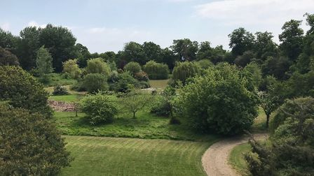The property sits in four acres of grounds