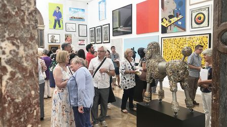 The Royal Academy Summer Exhibition.