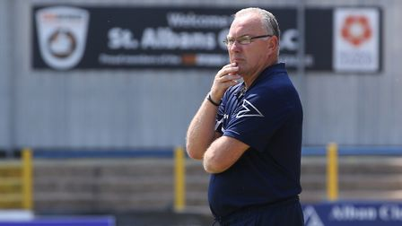 St Albans City manager Ian Allinson. Picture: DANNY LOO